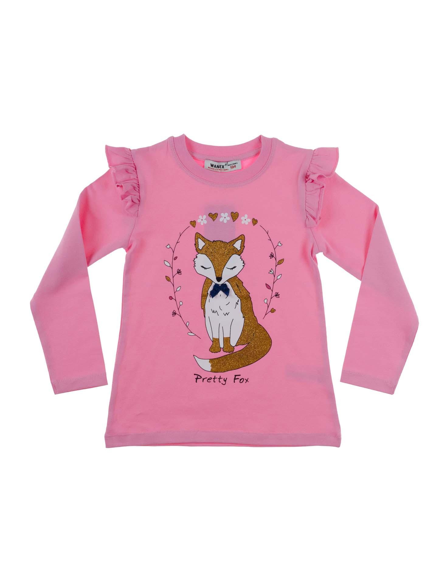 d18bb546f80 Купить Розовая кофта для девочки Wanex