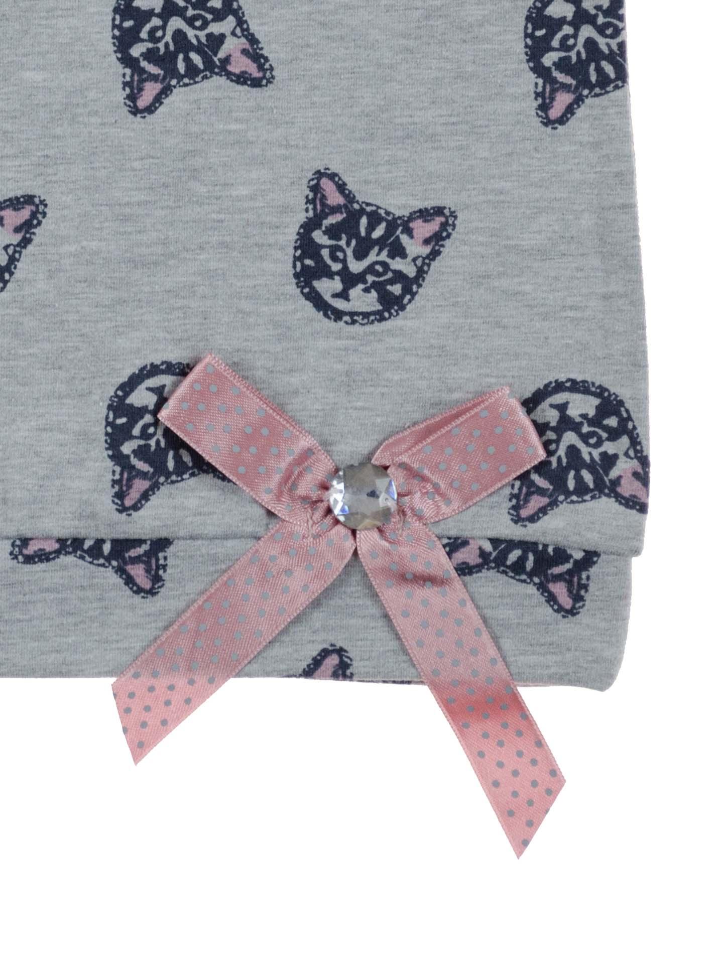 Купити Святкова стильна футболка Котики  b1bc19361df1f