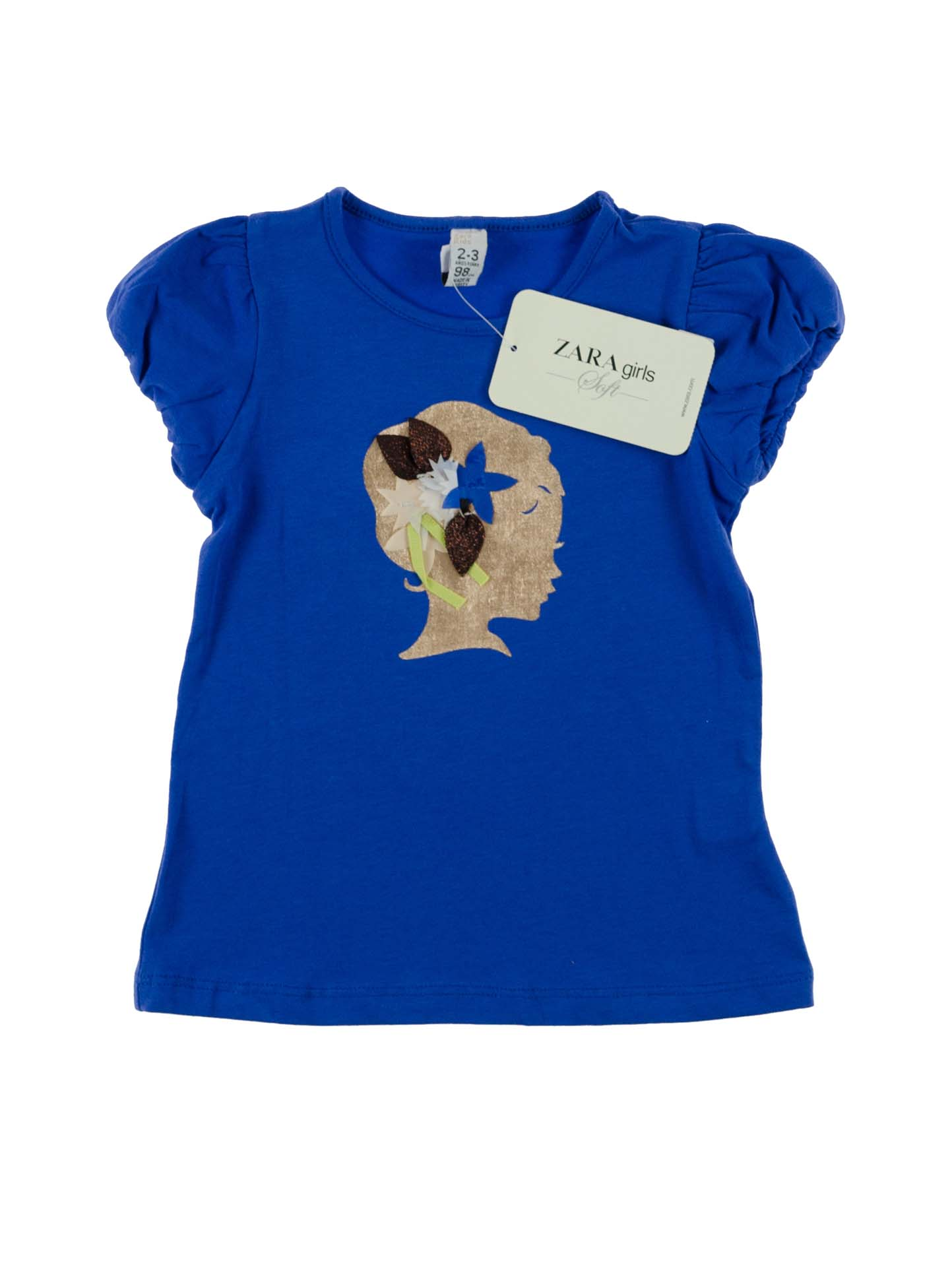 Купити Стильна синя футболка  cb611aa9c3c57
