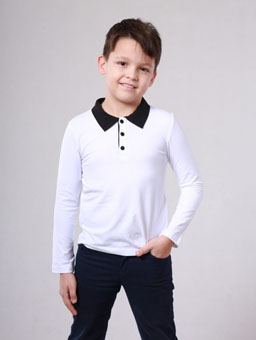 Кофта біла для хлопчика ВідОлі ... c495d994de14e